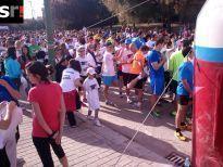 Más de 1.500 personas en la primera carrera por el síndrome de Down en Sevilla