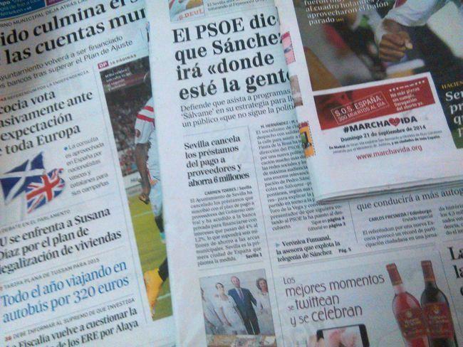 Actualidad, periodismo, noticias, prensa, información