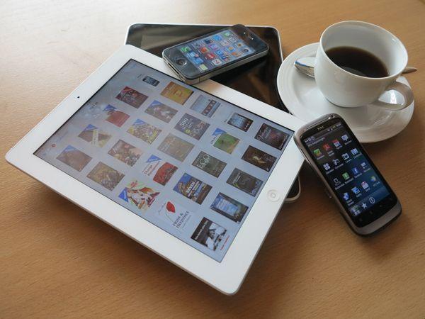Internet, noticias, la red, tabletas, pantallas