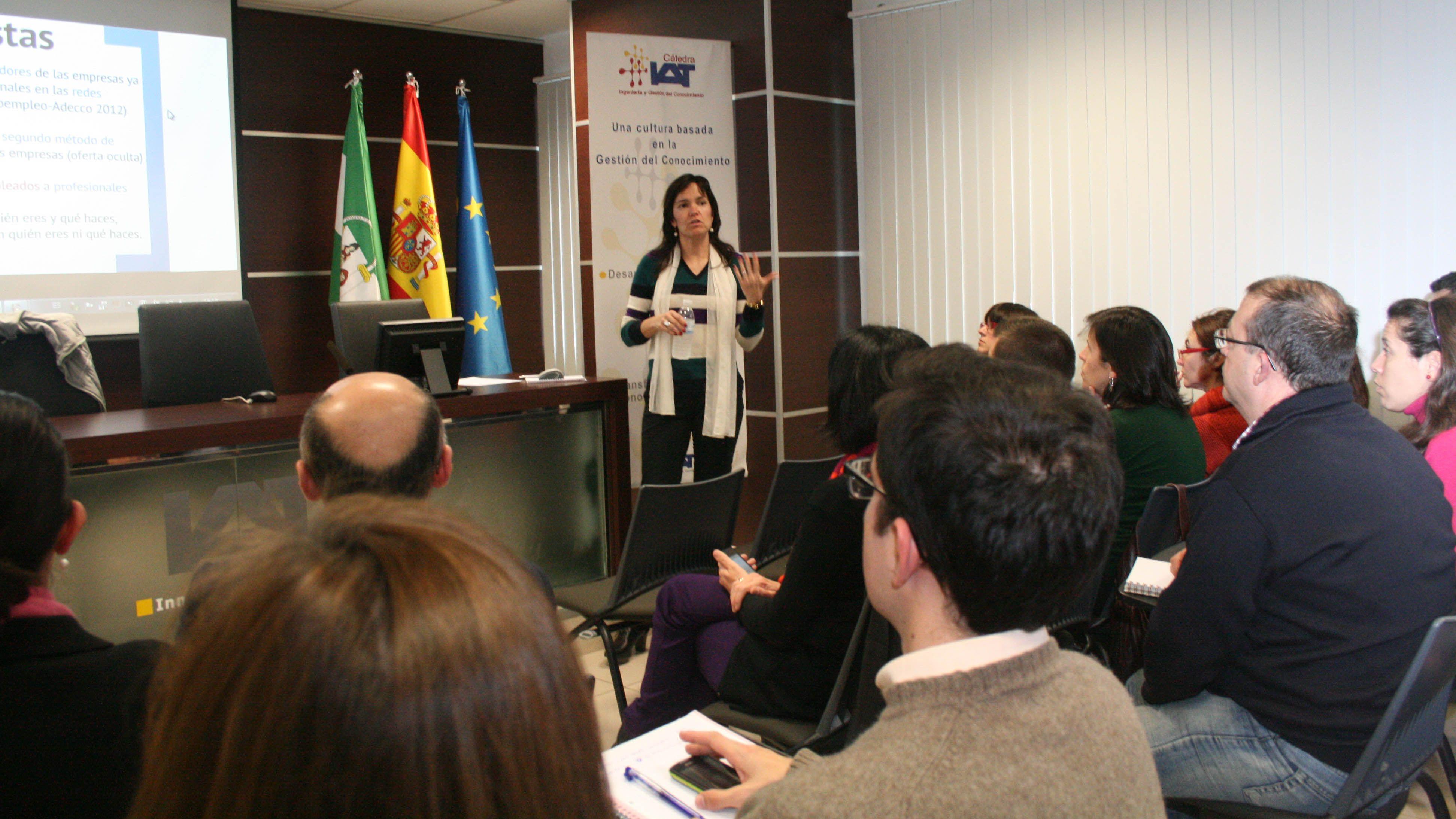 Luisa Arana. Responsable de la Escuela Europea de Competencias (EEC)