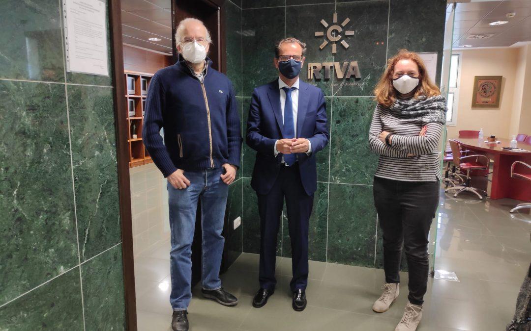 El Colegio de Periodistas de Andalucía pide al director de Canal Sur la puesta en valor como servicio público de la RTVA